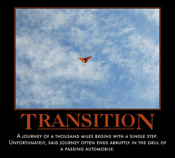 Transition – Sexy Motivational Posters