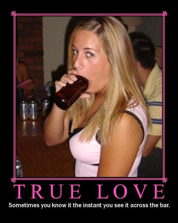 True Love Motivational Poster